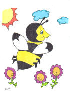 Bee Gazo Coloring page free
