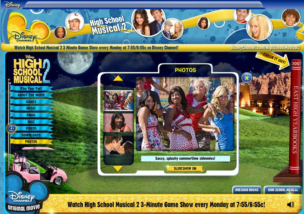 high school musical games disney play your pack with high school ...