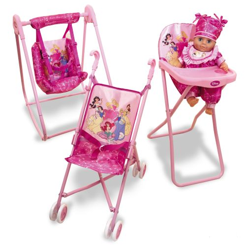 My Family Fun Disney Princess Stroller Doll Care Kids