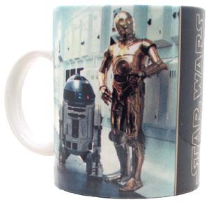 Star Wars R2D2 and C3PO Coffee Mug