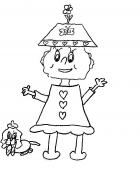 Alex Charlotte coloring pages 