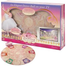 Barbie Dancing Princesses Interactive Dance Game