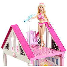 My Family Fun Barbie Malibu Dreamhouse Barbie Malibu