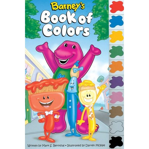 My Family Fun - Barney Lets Go the Zoo Color Activity Book Coloring ...