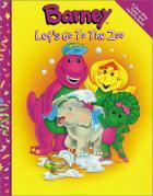Barney Lets Go the Zoo Color Activity Book