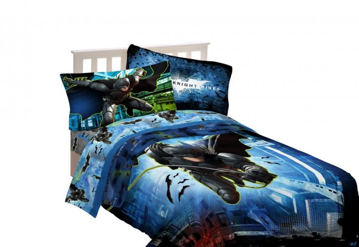 Youth Kids Bedroom Batman Dark Knight Twin Size Platform: My Family Fun