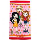  Bratz To The Beach Beach Towel 