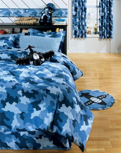 My Family Fun - Camouflage Bedding Bet set complete for your teenager!