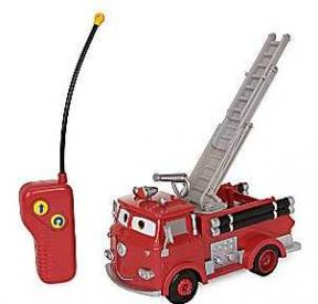 Cars Red Radio Controlled Fire Engine
