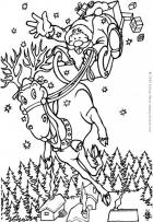  Coloring games page Online Santa Claus 