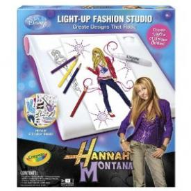 My Family Fun Crayola Hannah Montana Light Up Designer
