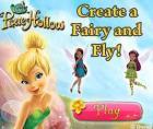Create a fairy and fly