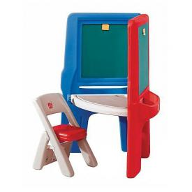 Creative Art Center with Folding Chair