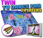 Dance Dance Revolution Twin Dance Mat Plug Play