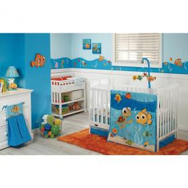 Disney Baby Finding Nemo 4 Piece Crib Set