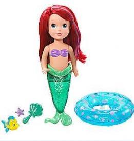 Disney Bathtime Princess Ariel Doll