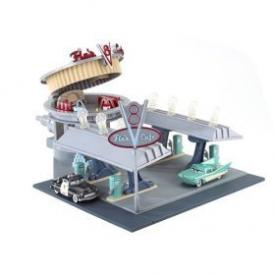 Disney Cars Flos V8 Cafe Playset