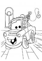  Disney Cars Mater Coloring Page 
