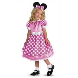 Disney Clubhouse Minnie Mouse costume