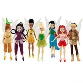 Disney Fairies Dolls Collector Pack