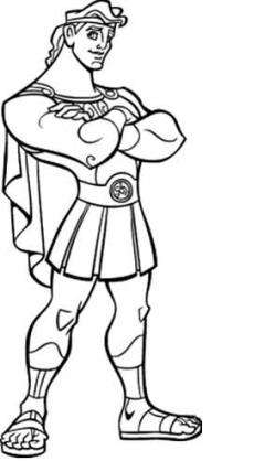 Disney Hercules Coloring Pages