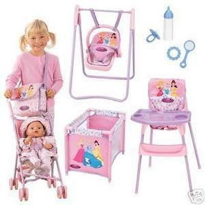 My Family Fun - Disney Princess Stroller Doll Care Kids, take ...