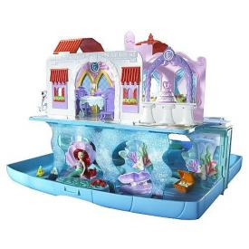 Disney The Little Mermaid Ariel Pop Up Castle Play