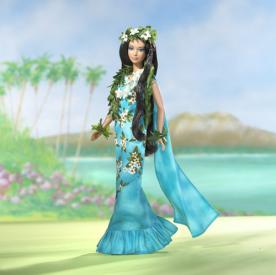 Dolls of the World Princess of the Pacific Island