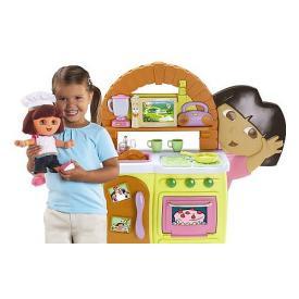 Dora Talking Kitchen with Exclusive Chef Dora Doll