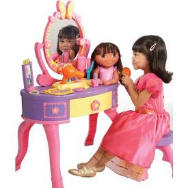 Dora the Explorer Let s Get Ready Vanity