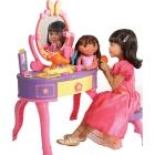 Dora the Explorer Let s Get Ready Vanity