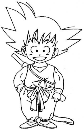 My Family Fun - Dragon Ball Z Coloring Pages Your favorite characters!