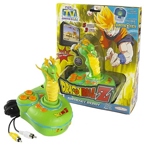Tv Games Plug Into : My family fun dragon ball z plug and play tv game