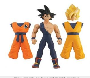 Dragon Ball Z Quick Change Figures