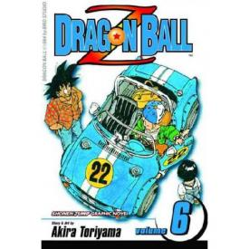 Dragon Ball Z Vol 6 book