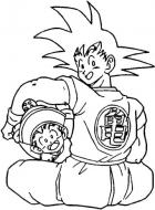 Dragonball coloring pages