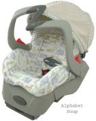 Embrace 5 Infant Car Seat Alphabet Soup