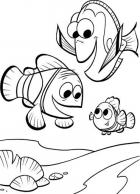 Finding Nemo And Friends Coloring Pages