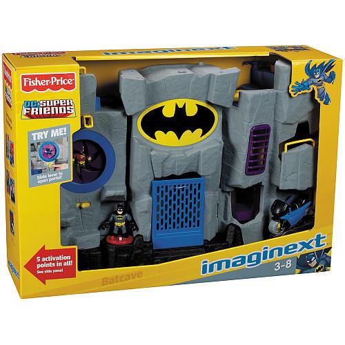 My Family Fun - Fisher-Price Imaginext Batman Bat Cave Adventures DC Superfriends! New adventure ...
