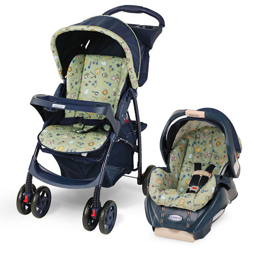 Cyber Monday Walmart Graco Literider Click Connect Travel System With Snugride Click Connect For