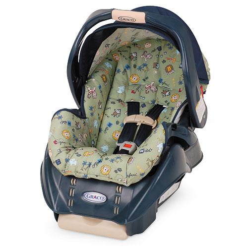 My Family Fun Graco Snugride 2 Infant Car Seat Super Safari For