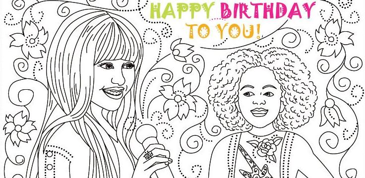 Printable Colouring Pages For Girls - Scantra - Promotional Solutions