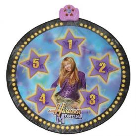 Hannah Montana Dance Mat with DVD Headset and Wig