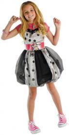 Hannah Montana Polka Dot Dress Child Costume