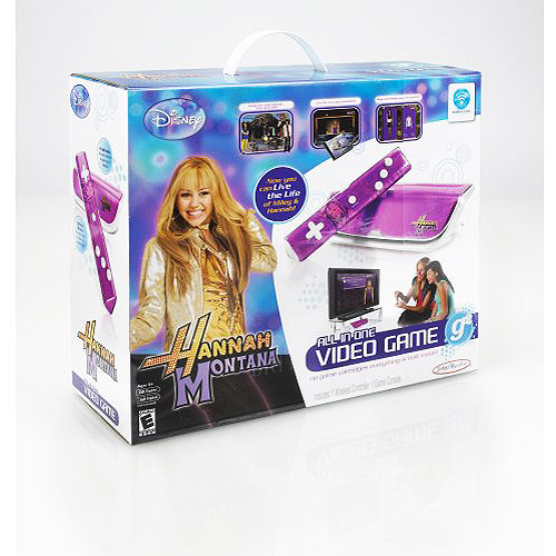 What are some Hannah Montana-themed games?