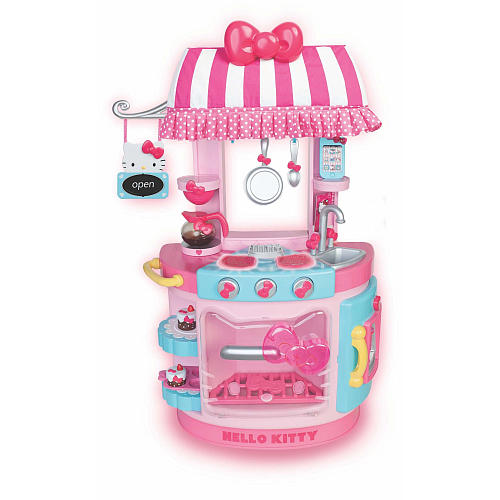 Hello Kitty Kitchen Accessories: Hello Kitty Kitchen Cafe Ideal For Your