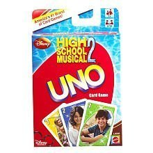 High School Musical UNO Card Game