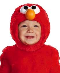 Infant Toddler Elmo Light Up Costume