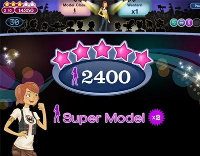 Fashion Runway Games Free on My Family Fun   Jojo Fashion Show Find The Clothes That Match Each