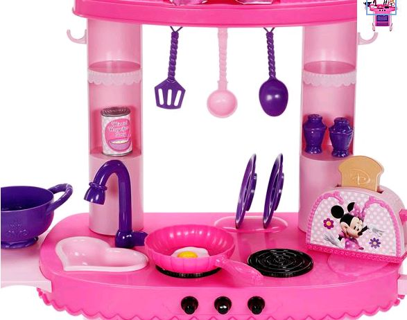 My Family Fun - Minnie Mouse Kitchen Play Set Play with Minnie Mouse ...